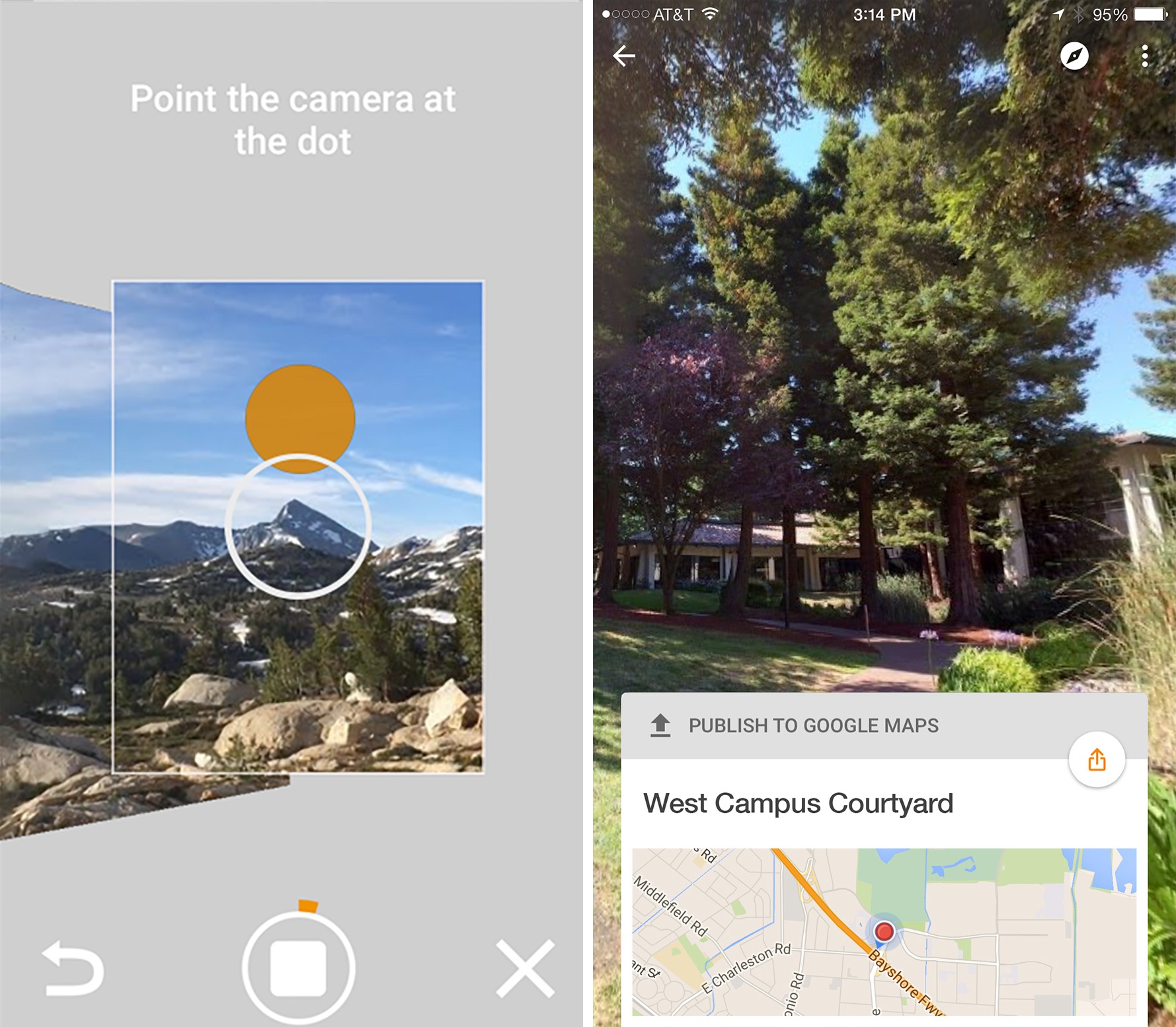 Captura de pantalla 001 de Google Street View 1.0 para iOS iPhone