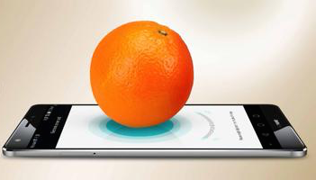 Huawei weigh orange Mate S Force Touch