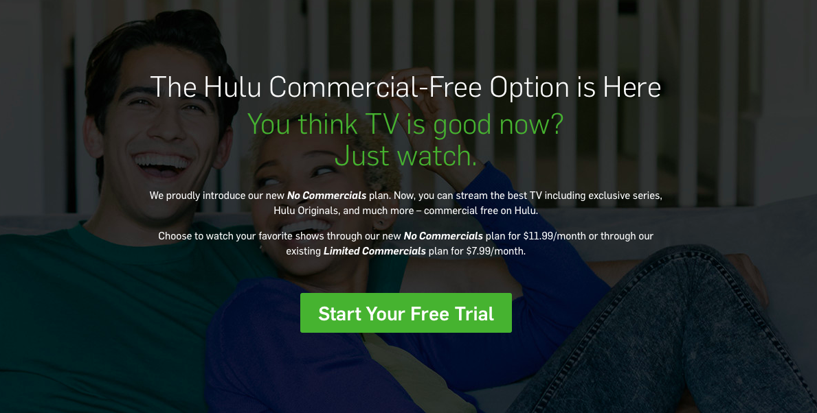 Hulu No Commercials plan image 001