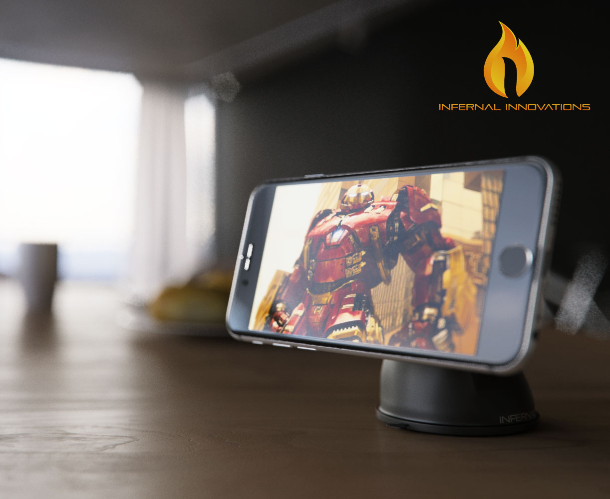 Infernal-Innovations-magnetic-phone-mount-iphone