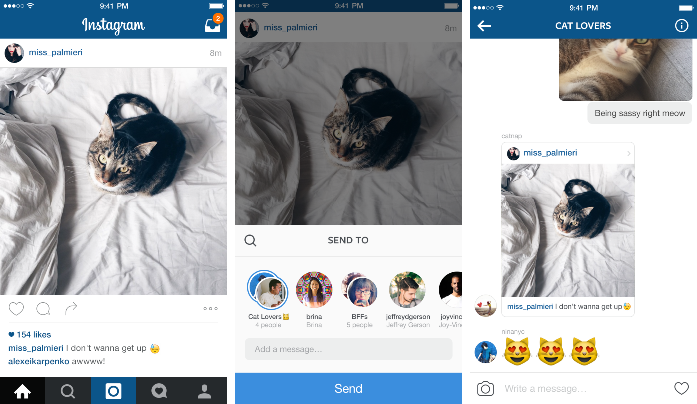 Instagram 7.5 for iOS iPhone screenshot 001