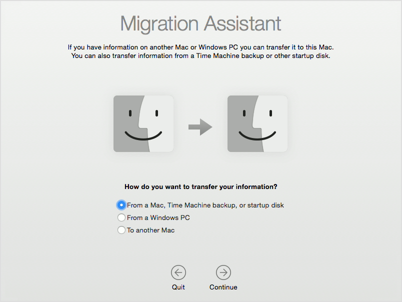 Migration Assistant select method Mac screenshot 001