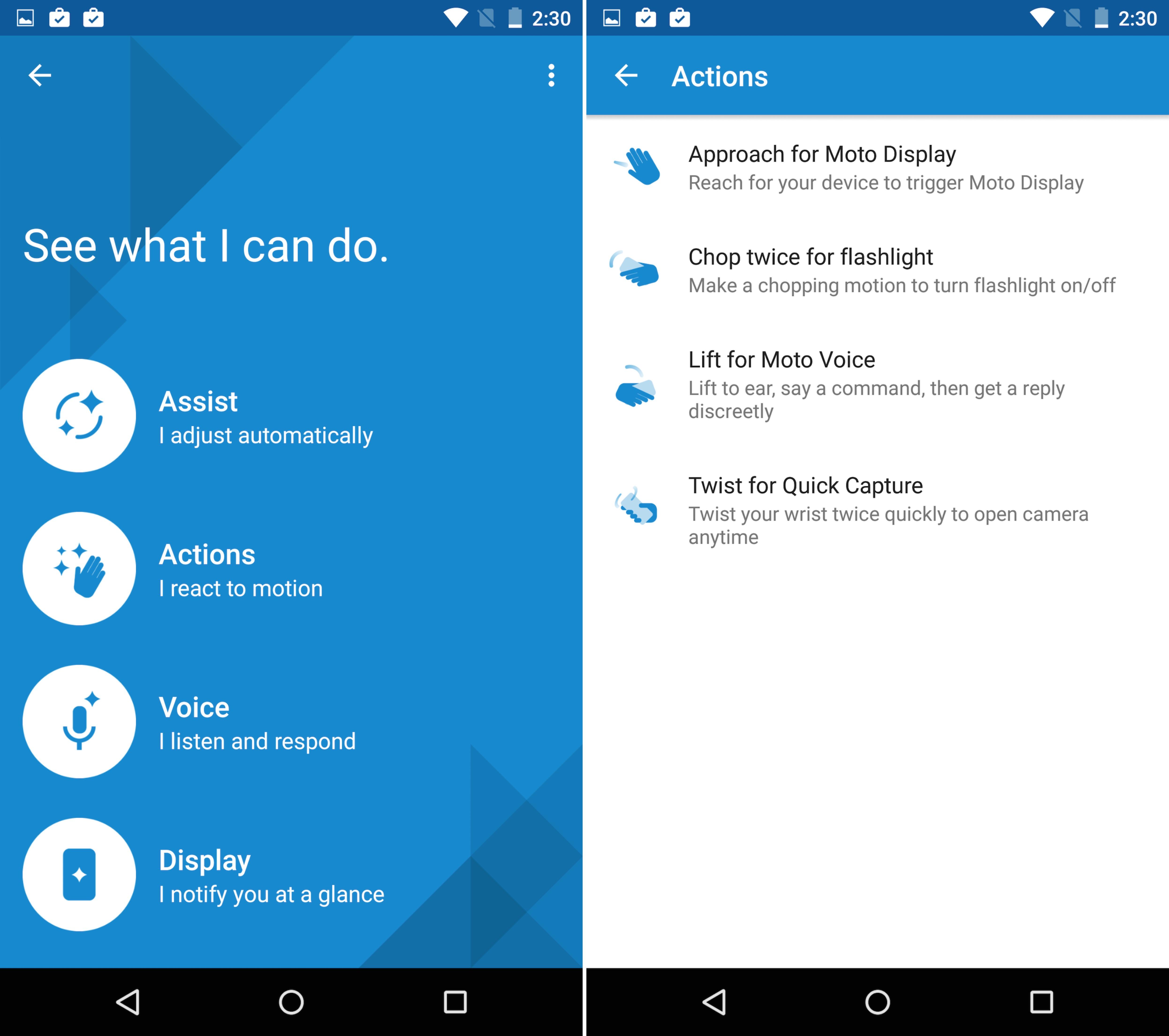 Moto App Moto X Pure Edition