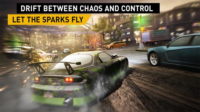 Captura de pantalla 003 de Need for Speed No Limits 1.0 para iOS iPhone