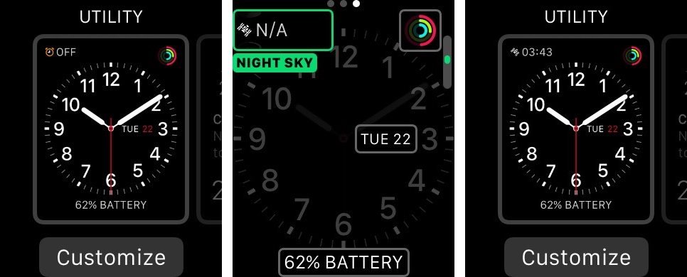 Night Sky for iOS Apple Watch screenshot 001