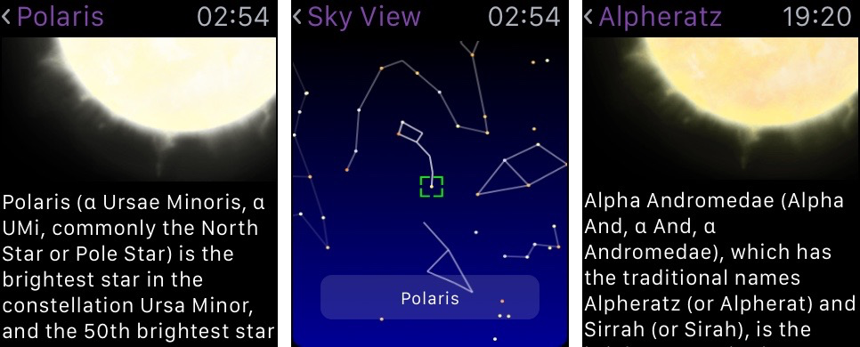Night Sky for iOS Apple Watch screenshot 004