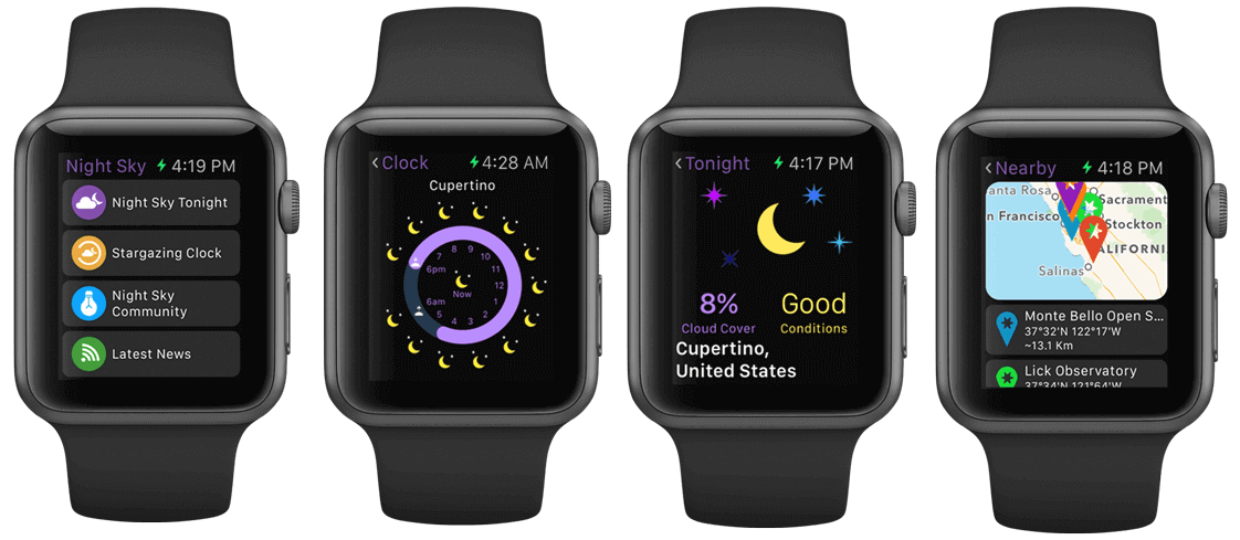 Night Sky for iOS Apple Watch teaser 001