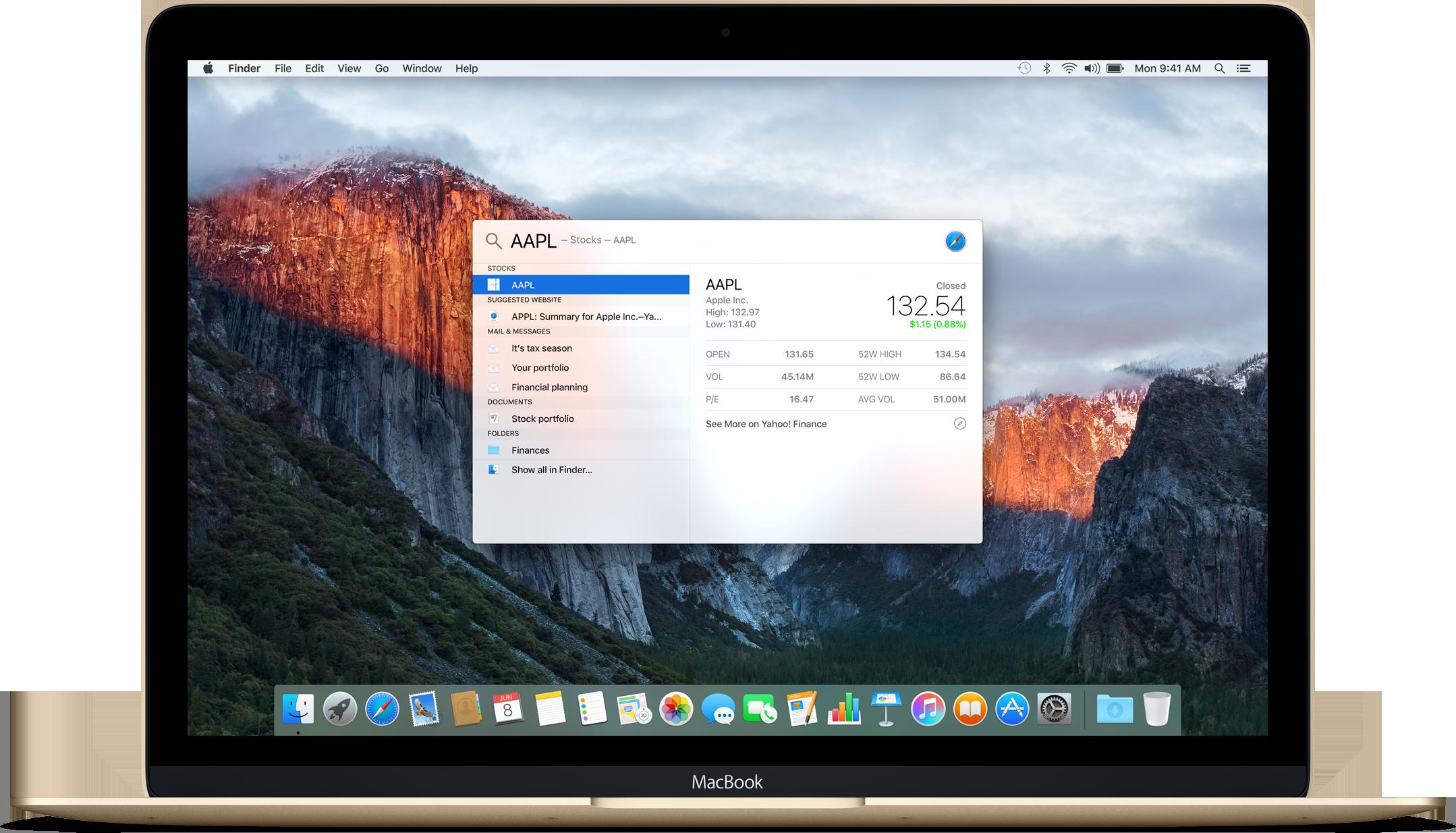 OS X El Capitan Spotlight image 002
