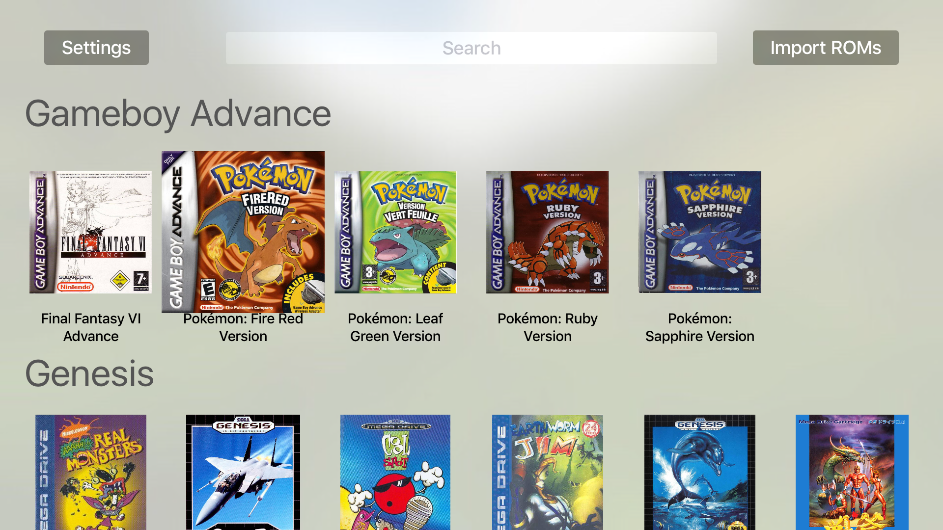 Provenance classic game emulator launches for Apple TV, and