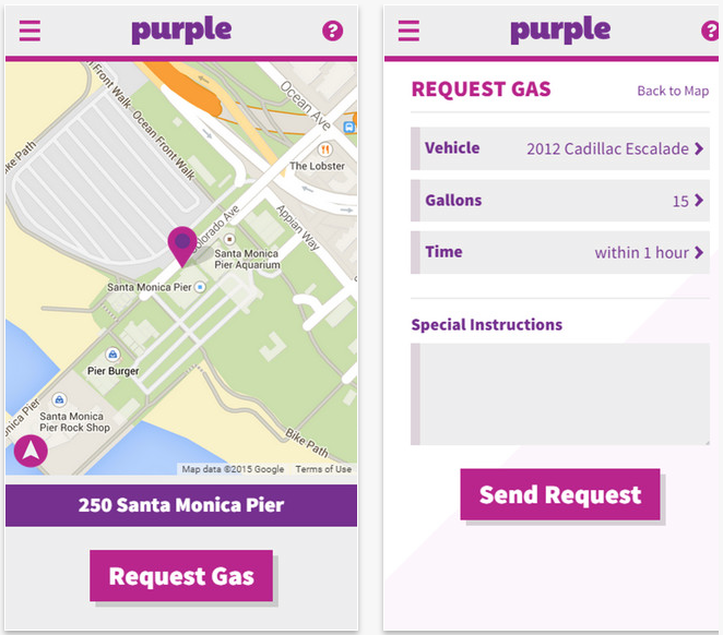 Purple On Demand Gas Delivery