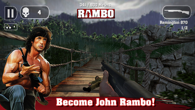 Rambo the Mobile Game