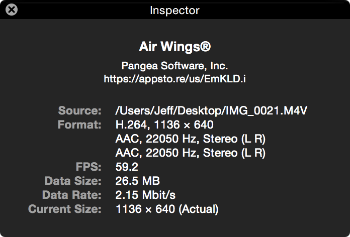 ReplayKit video quality inspector