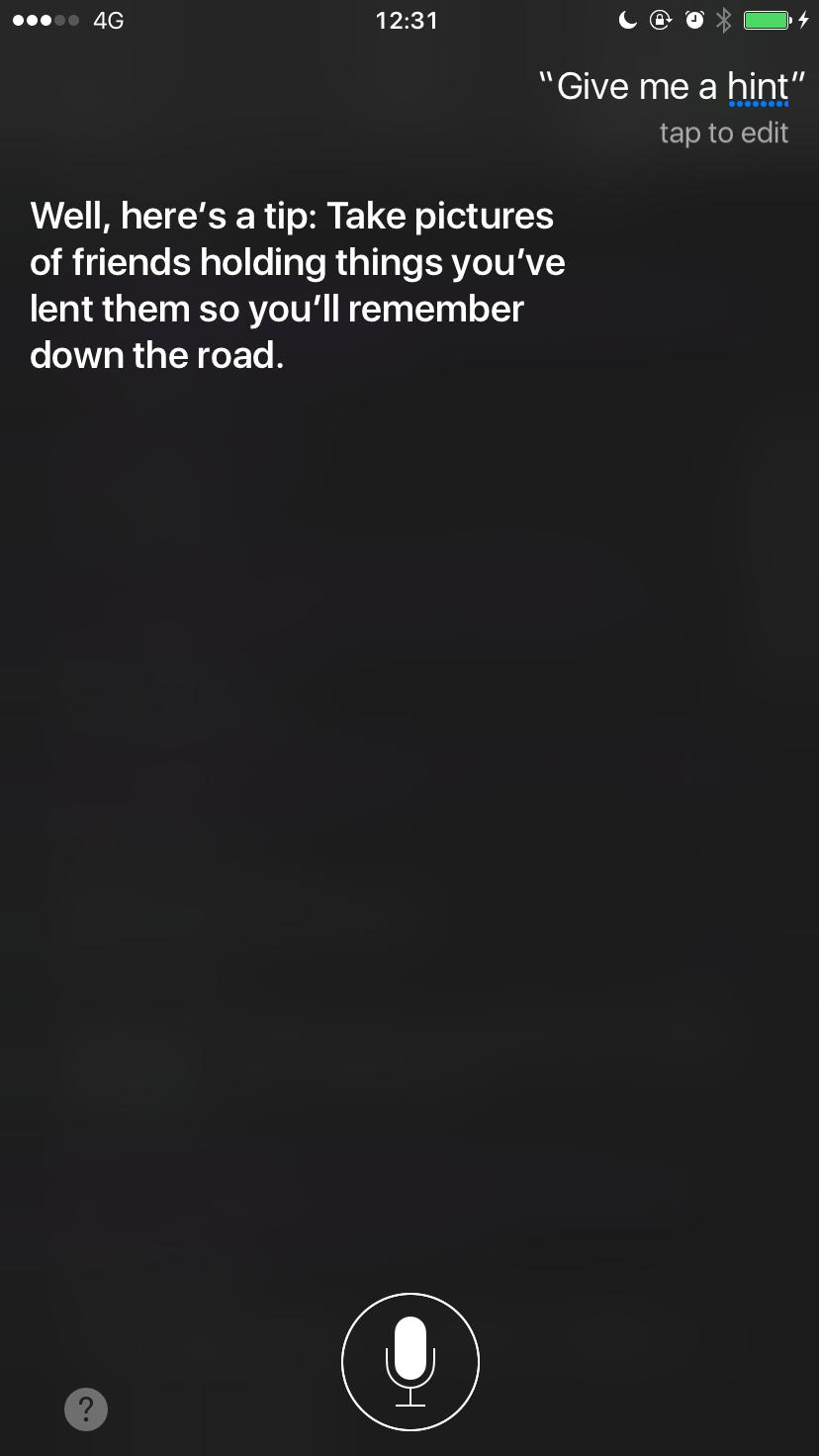 Siri Give Me a Hint 2