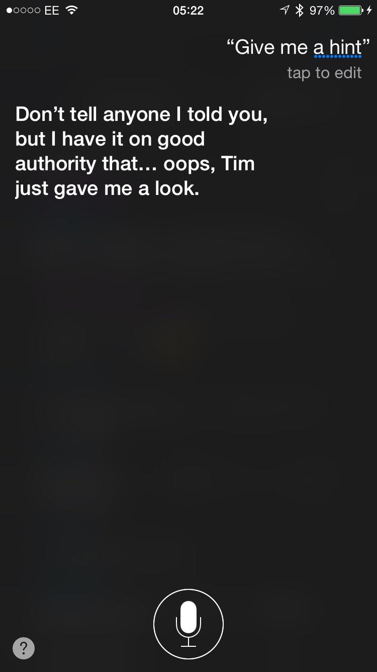 Siri Give Me a Hint 4