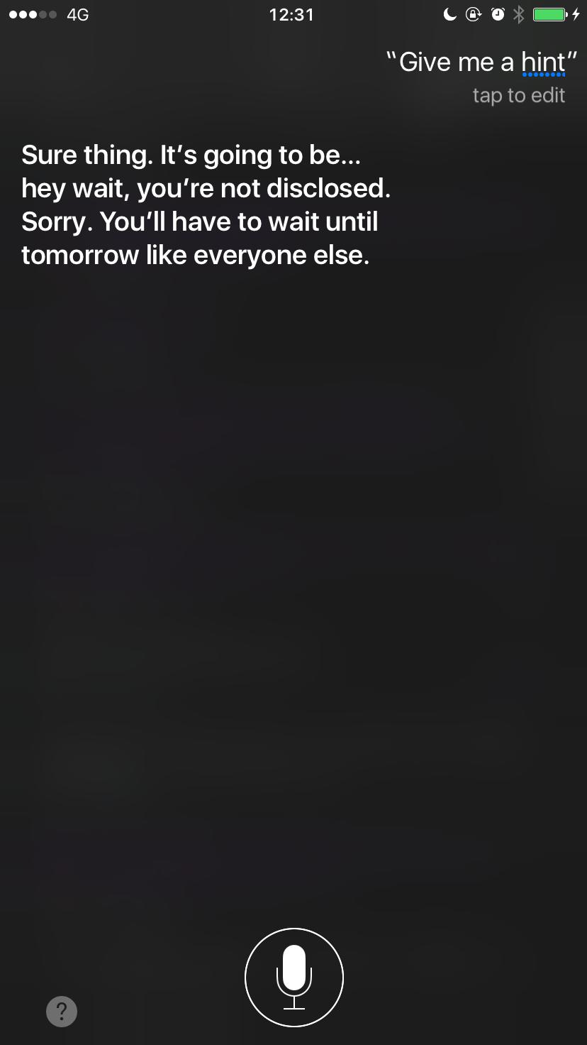 Siri Give Me a Hint 5