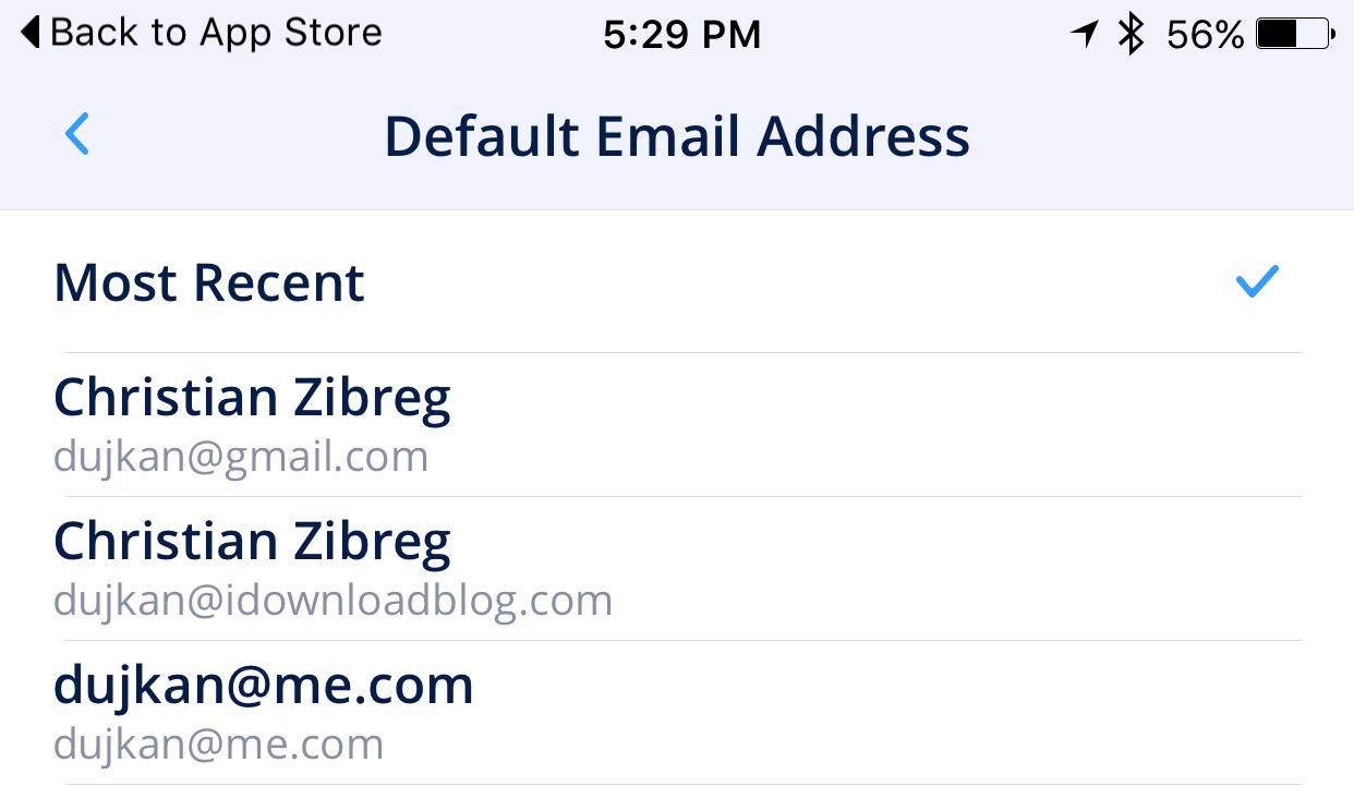 Captura de pantalla 002 del iPhone Spark 1.2 para iOS FROM