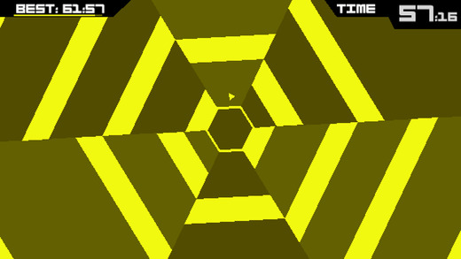 Super Hexagon 1.3 for iOS iPhone screenshot 001