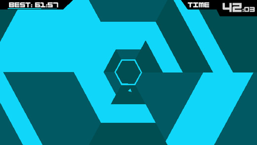 Super Hexagon 1.3 for iOS iPhone screenshot 002