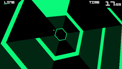 Super Hexagon 1.3 for iOS iPhone screenshot 003