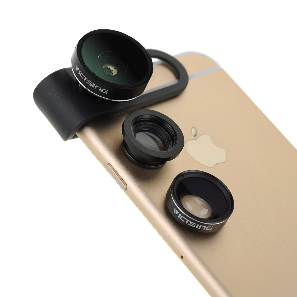 05c2cad0a471e5 This 3-in-1 lens kit for iPhone 6 is a low-cost beginner's kit for ...
