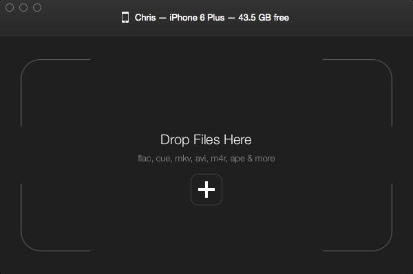 WALTR for OS X Mac screenshot 009