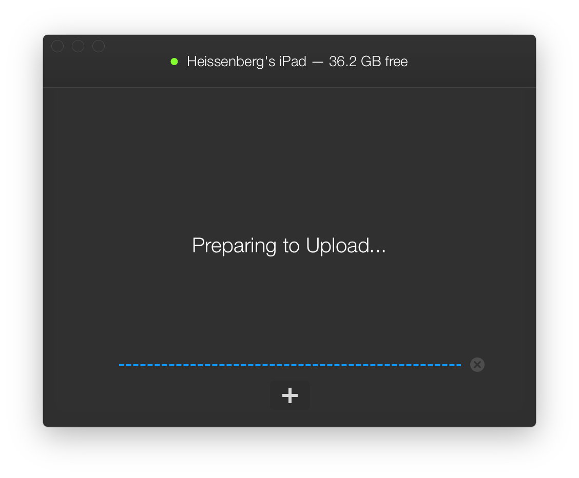 WALTR for OS X Mac screenshot 011