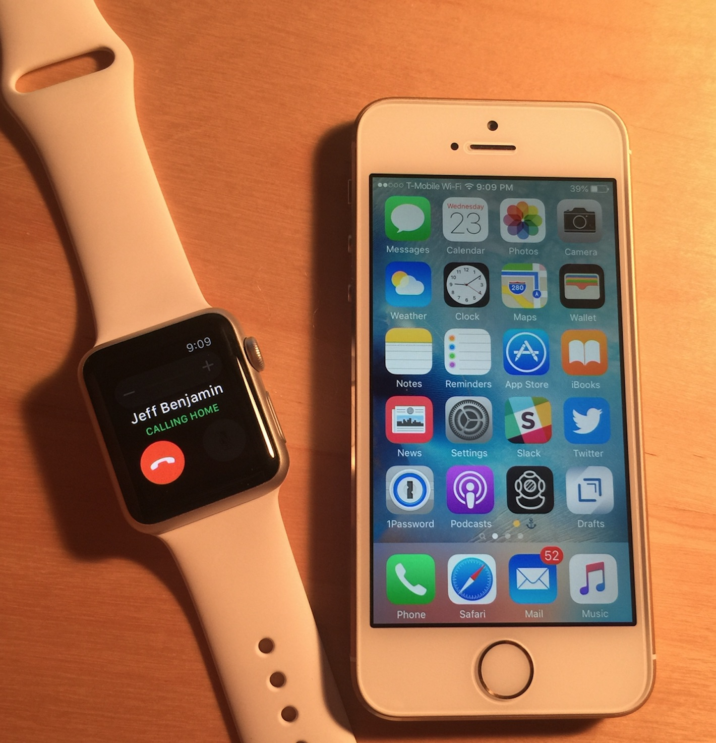 Wi-Fi call watchOS 2 no Bluetooth
