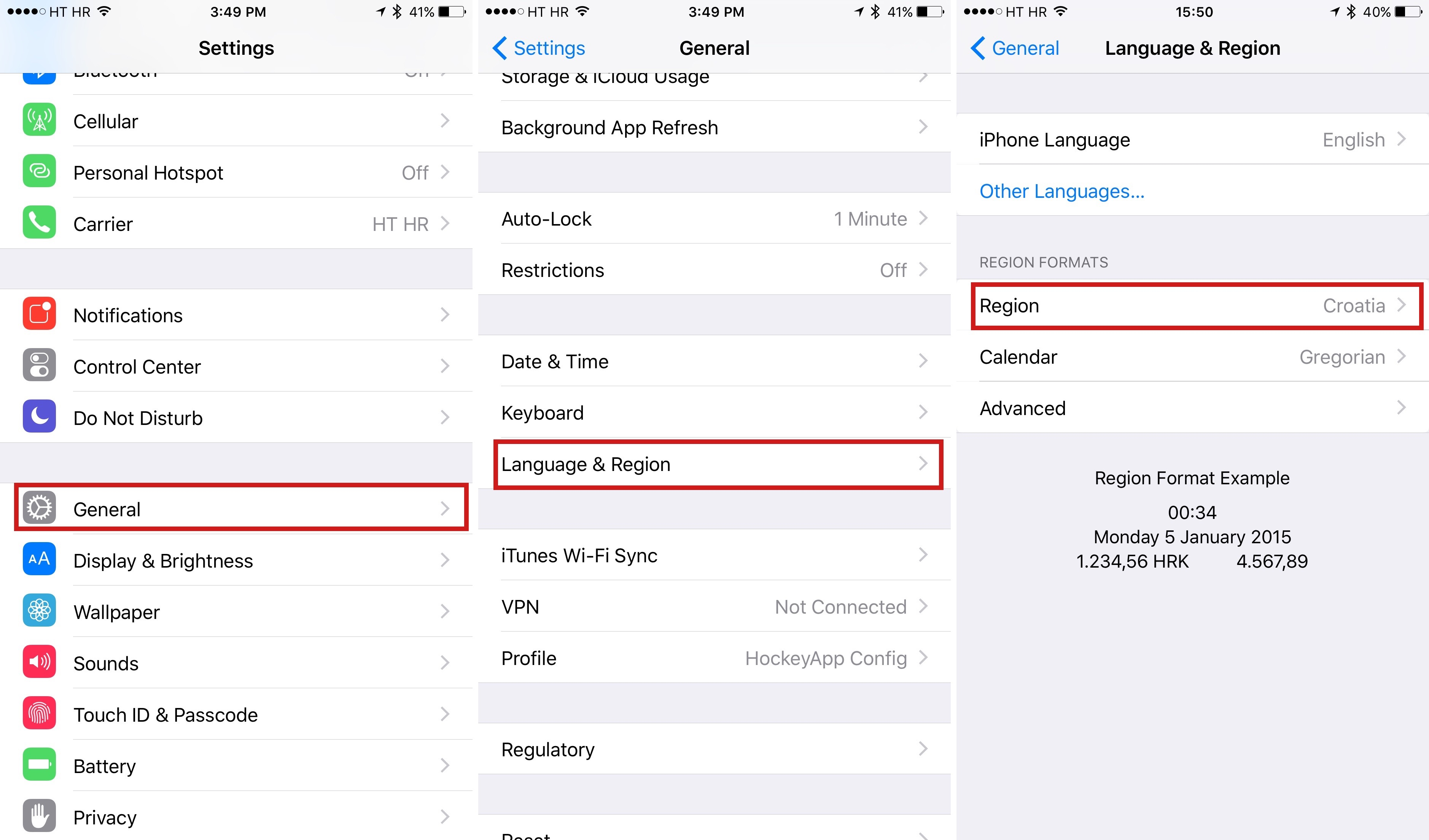 how to enable iOS 9 News app outside United States iPhone screenshot 001