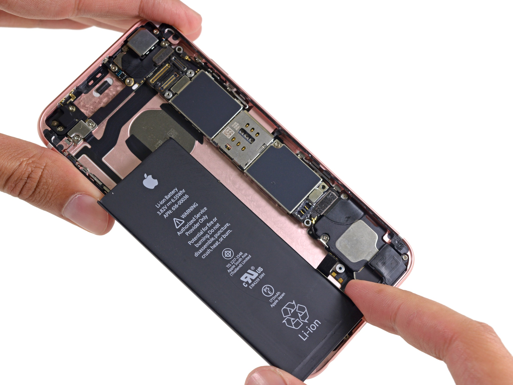 iFixit iPhone 6s teardown image 004 Battery