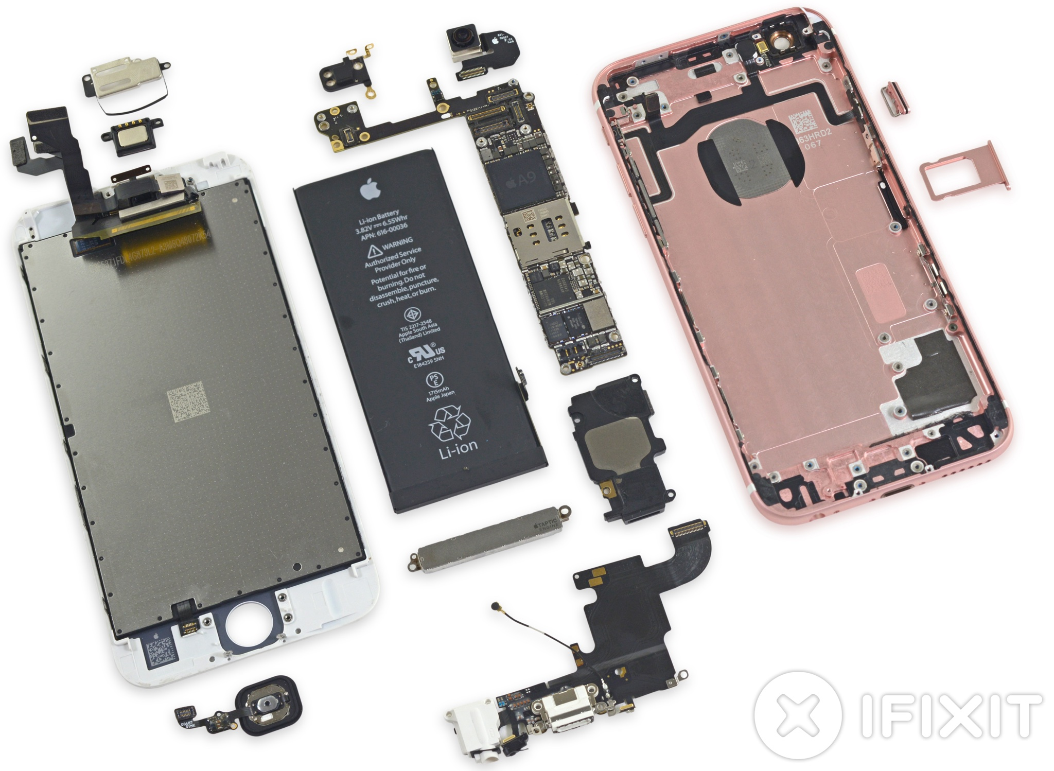 iFixit iPhone 6s teardown image 005