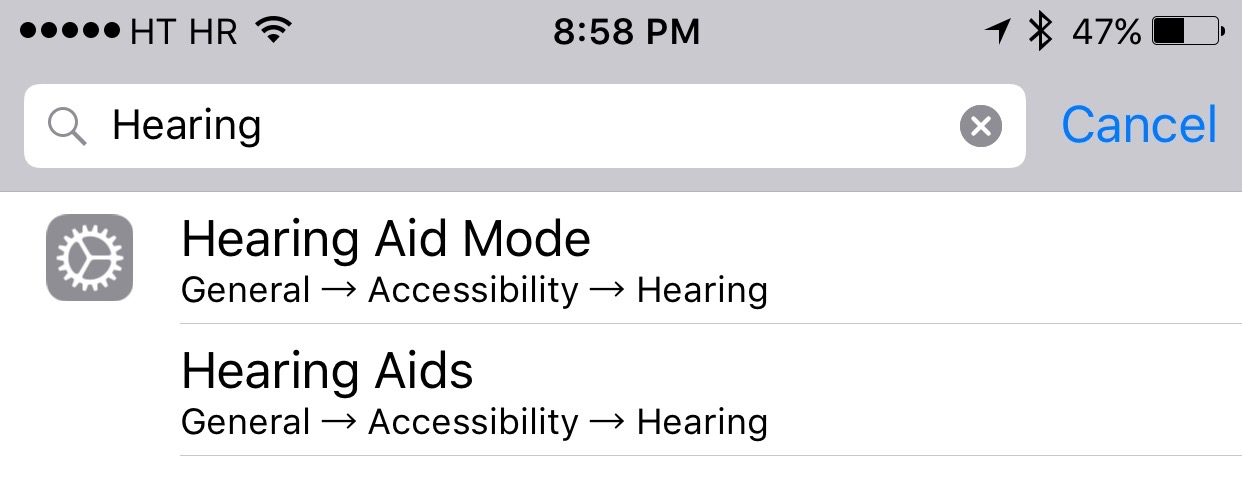 iOS 9 Settings search iPhone screenshot 004