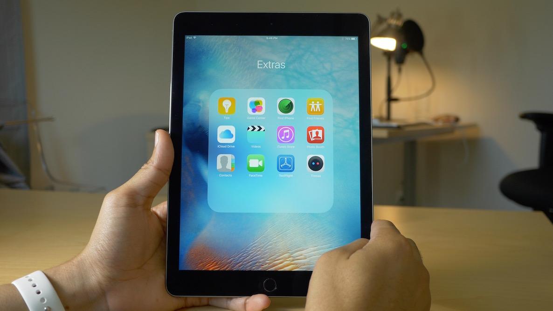iPad Folder iOS 9