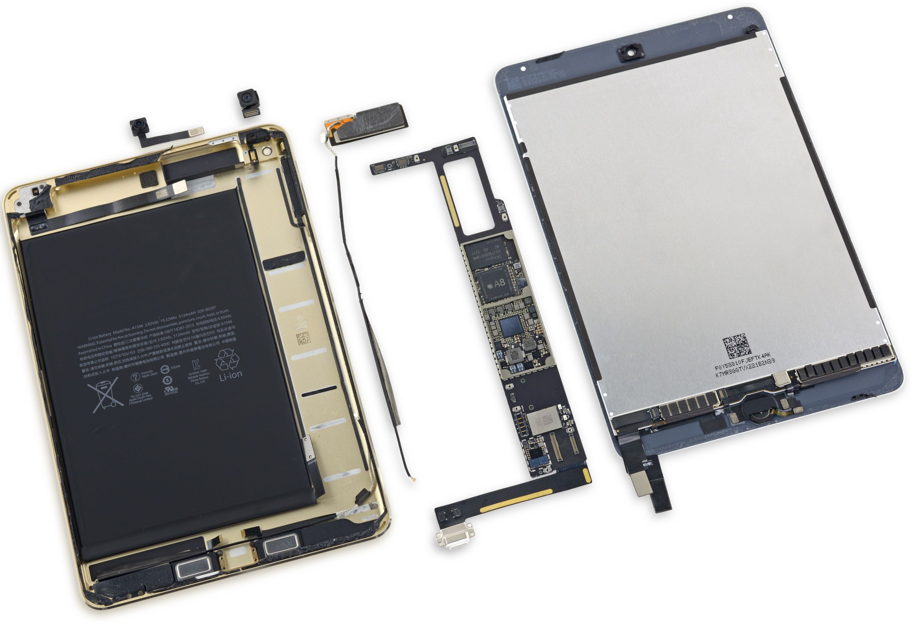 iPad mini 4 teardown iFixit image 003