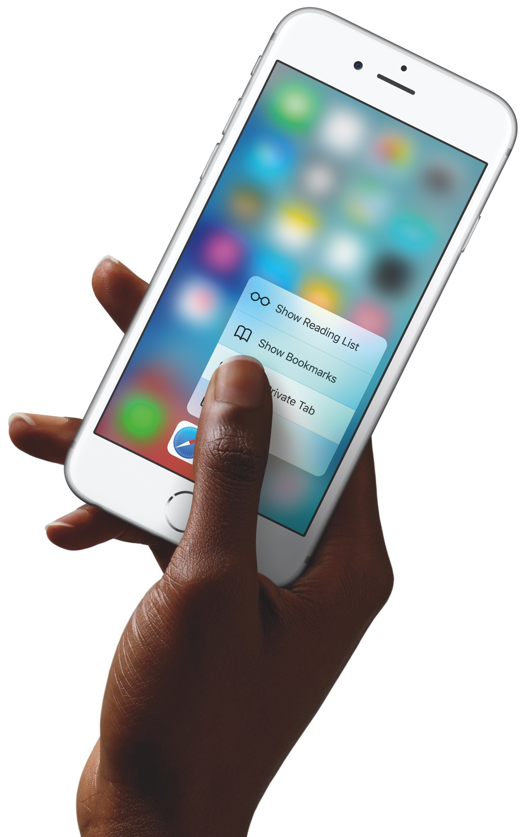 iPhone 6s 3D Touch in hand 005