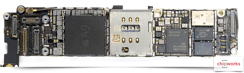 iPhone 6s PCB front Chipworks image 001