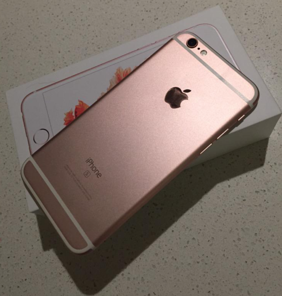 iPhone 6s Rose Gold Unboxed