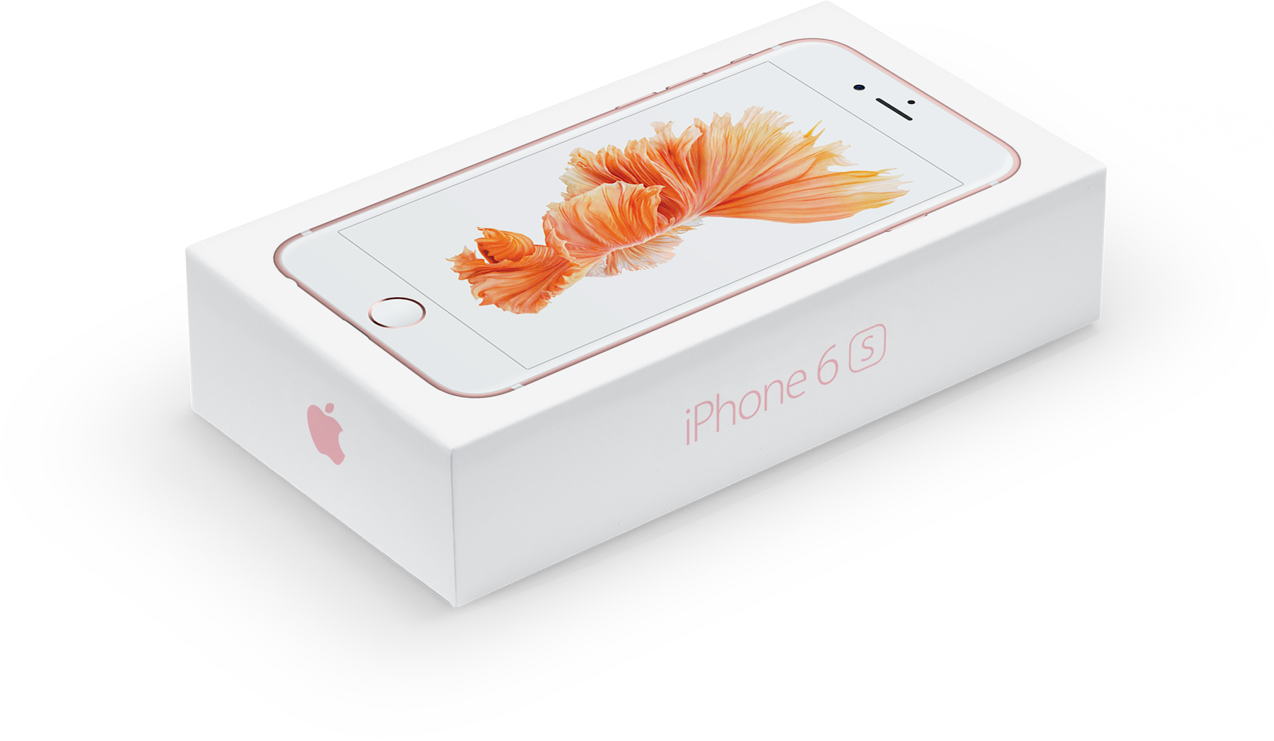 iPhone 6s box rose gold