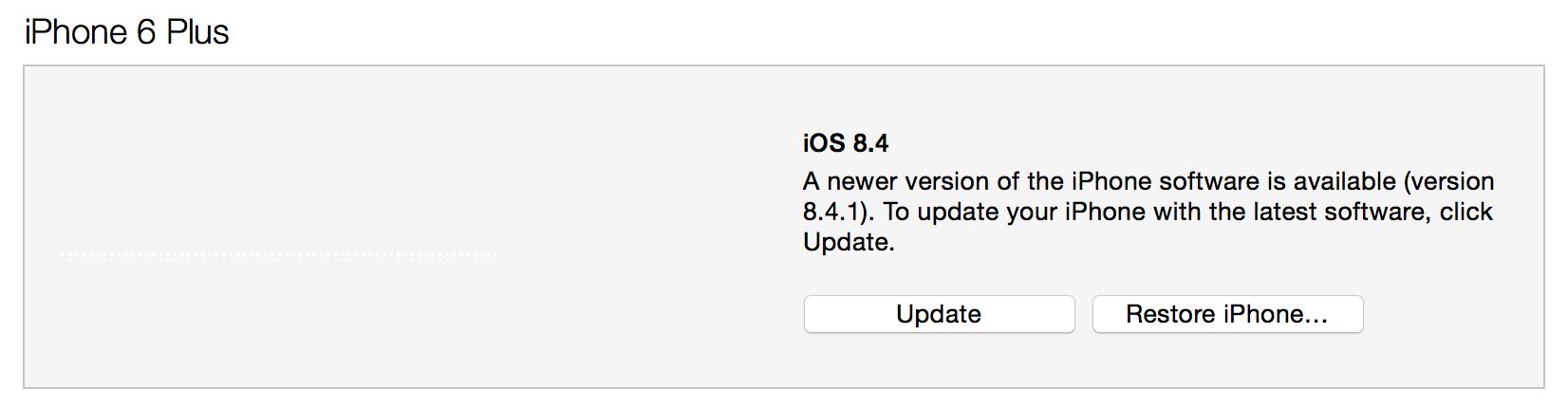iPhone Update iOS 9