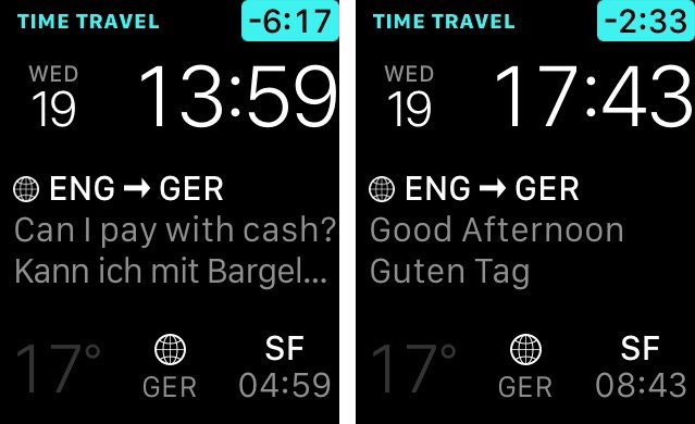 iTranslate 9.0 for iOS Apple Watch screenshot 003