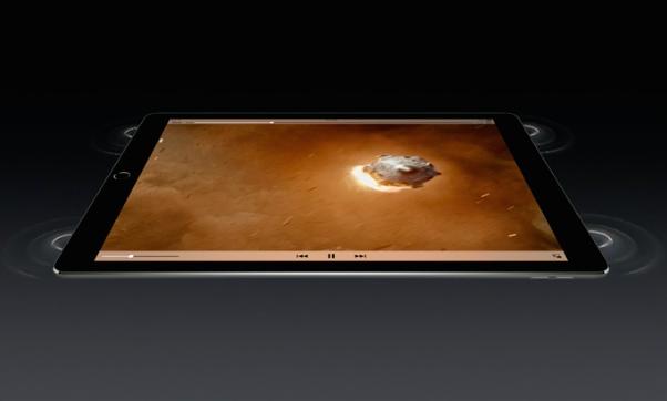 iPad pro speakers