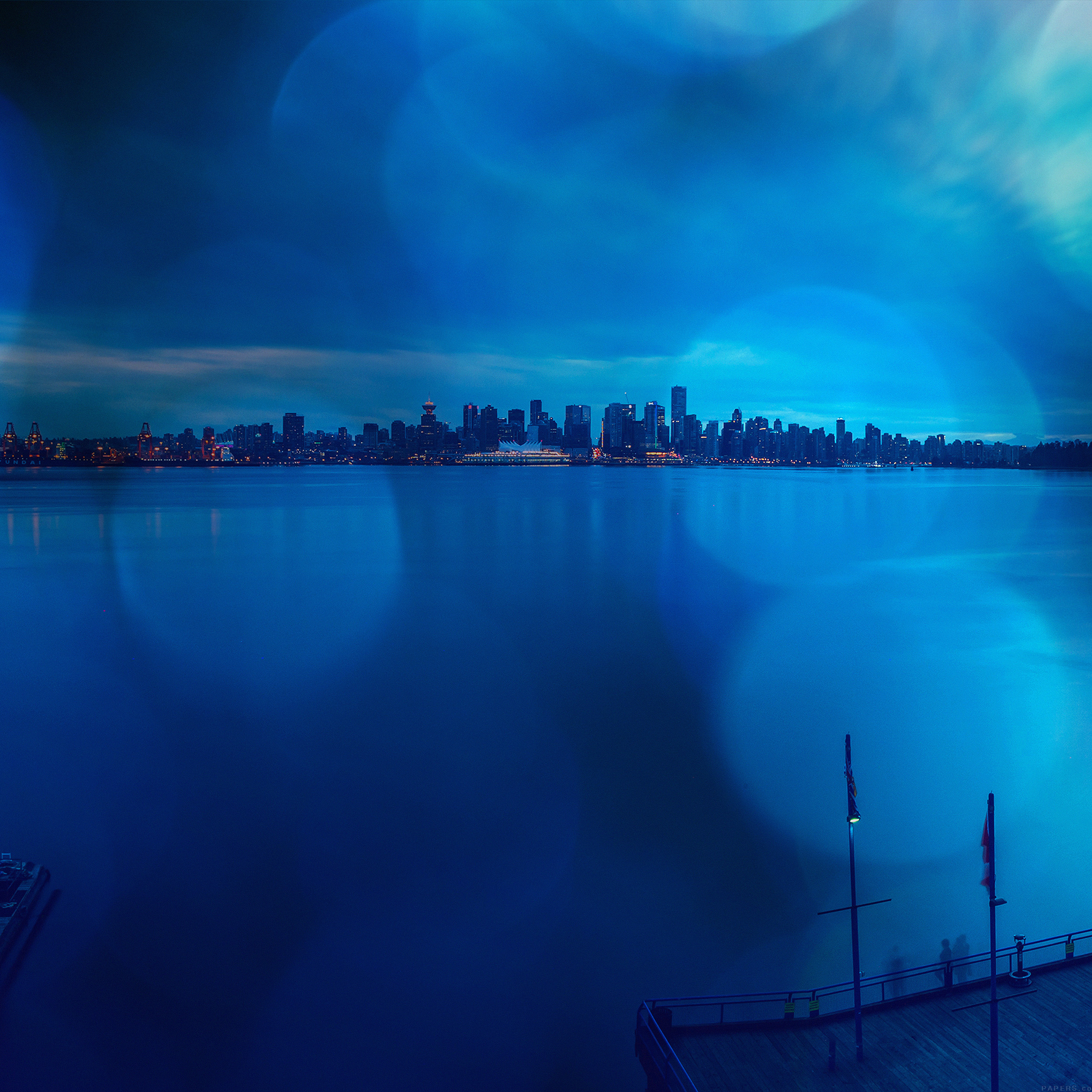 lake-city-afternoon-blue-flare-nature-9-wallpaper