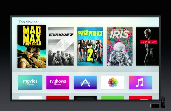 new apple tv interface