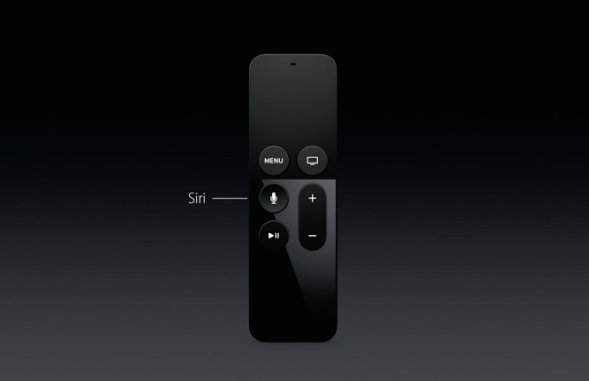 new apple tv remote siri