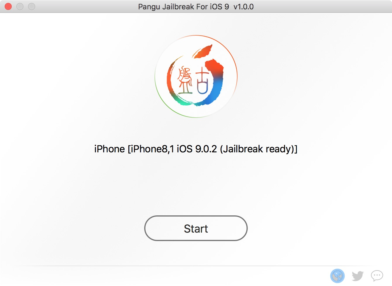 3 Start pangu jailbreak ios 9