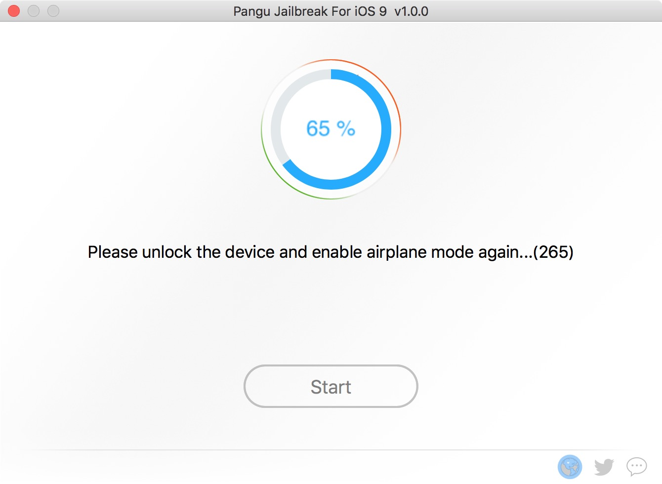 6. Enable Airplane Mode again