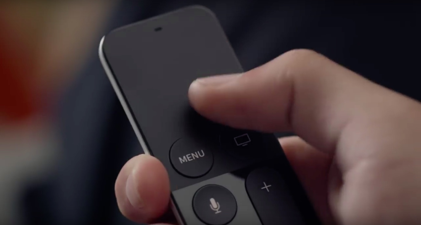 Apple TV Siri Remote in hand image 003