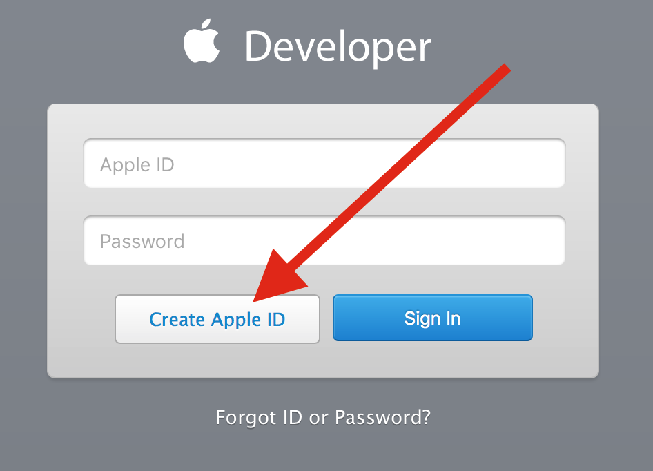 Create Developer Account