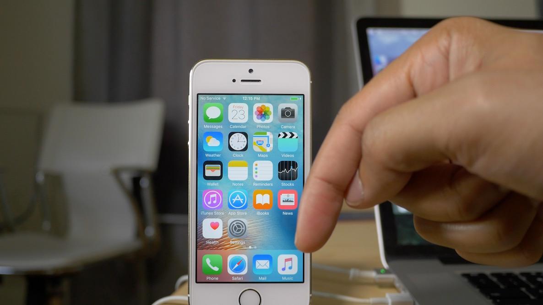 Downgrade iOS 9.1