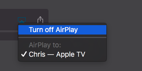 El Capitan AirPlay video Mac captura de pantalla 005