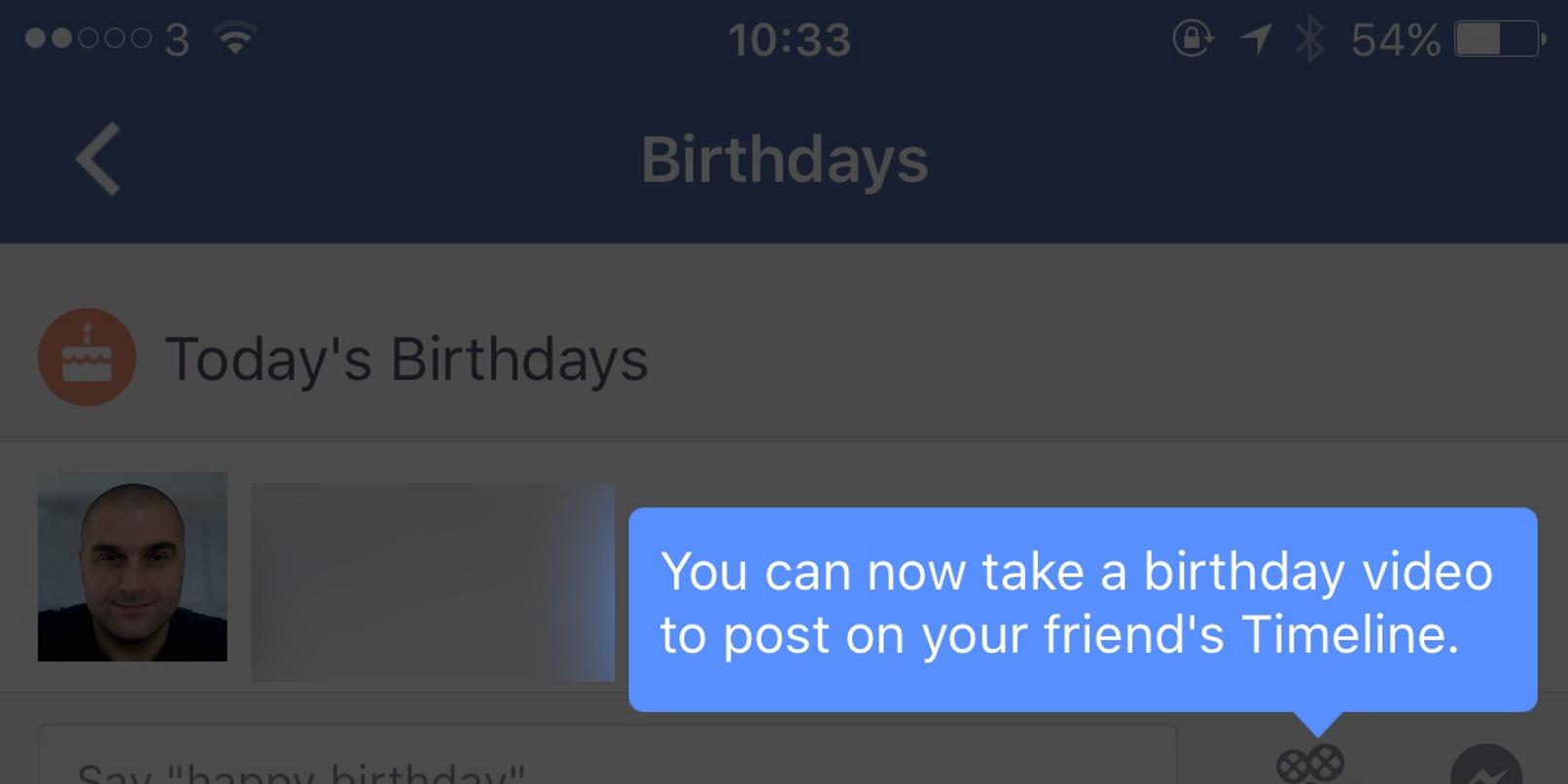 Facebook Happy Birthday videos on mobile The Next Web screenshot 001
